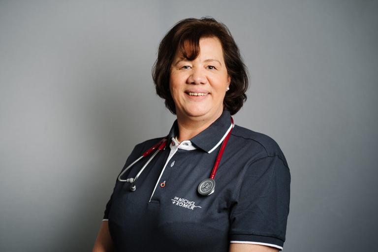 Internisten Freising - Römer & Michel - Team - Frau Dr. Petra Michel
